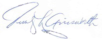 Jerry Ainsworth Signature